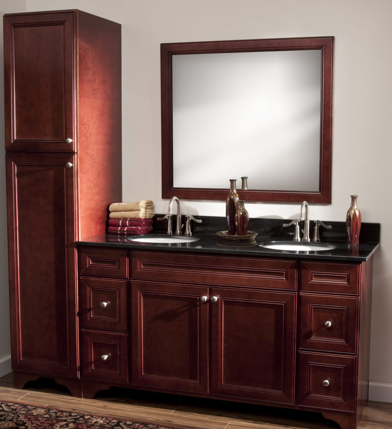 Maple Bathroom Vanity Cabinets maple cherry cabinet archives - greencastle cabinetry
