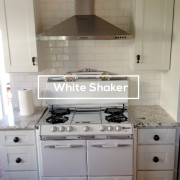 White Shaker Kitchen Cabinet