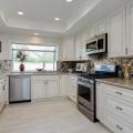 Greencastle Antique White Kitchen Cabinet