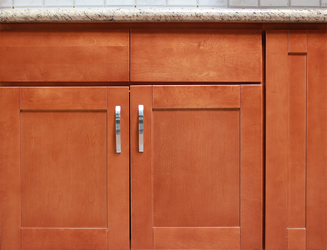 Cinnamon Shaker Greencastle Cabinetry