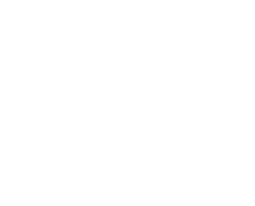 10x10 European Style Kitchen Cabinet