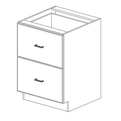 2 Drawer Base