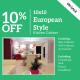 European Style Kitchen Cabinet