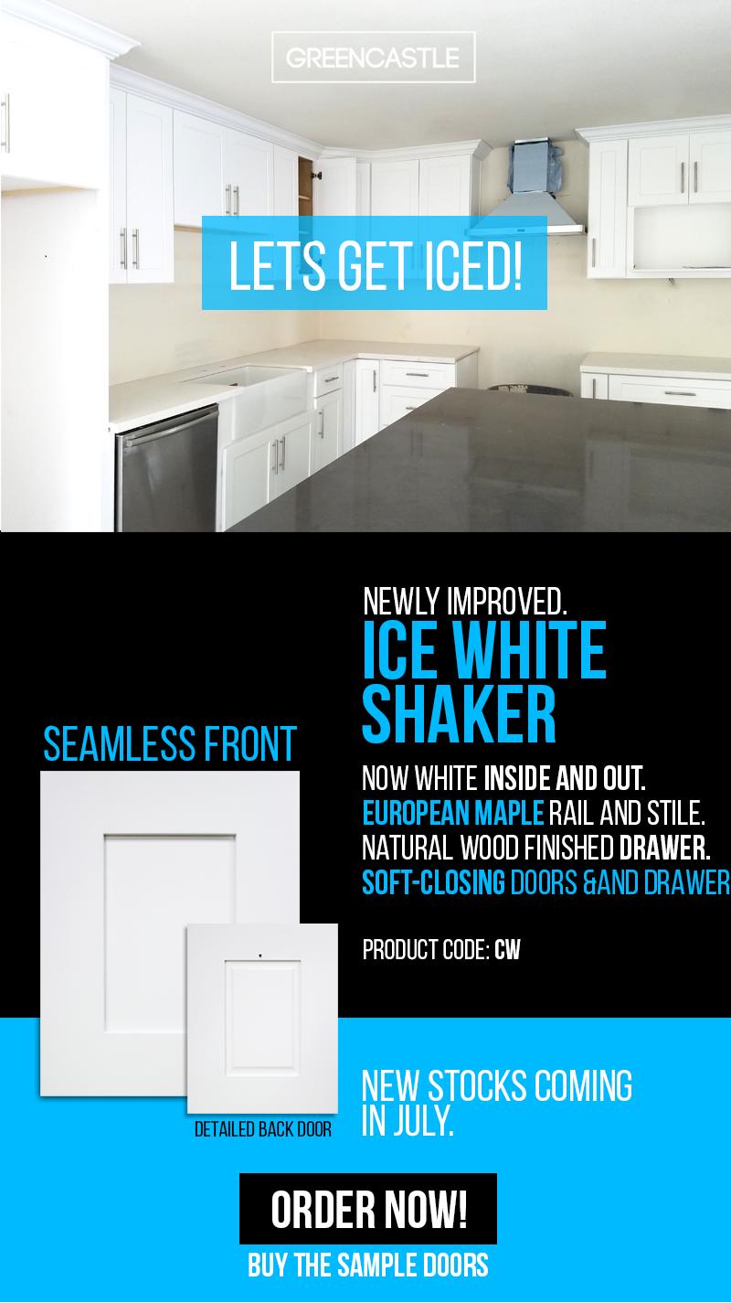 Seamless White Shaker