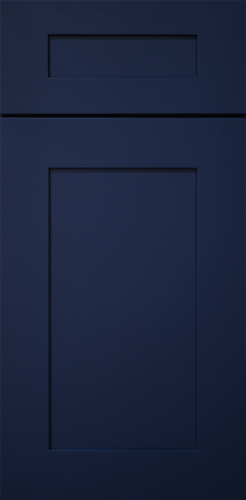 NAVY BLUE CABINET DOOR