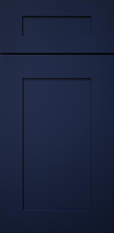 NAVY BLUE CABINET DOOR
