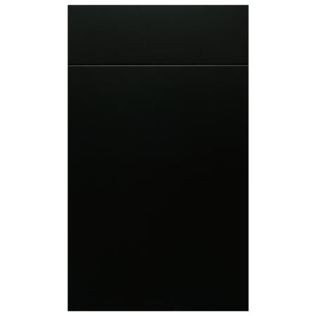 Matte Black Cabinet
