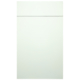 White Satin Kitchen Cabinet
